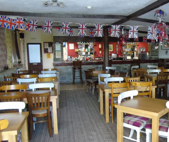 Upwood Inn bar and facilities
